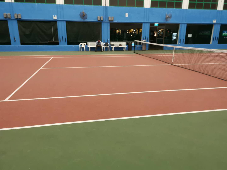Chainzone's Product Shines in Singapore Tennis Court